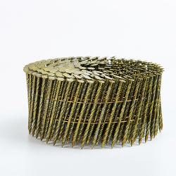 Möbel-Rahmen-Ladeplatten-Ring nagelt gewundenen Schaft für Verkauf