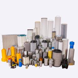 Fabricant de PP industriel de la membrane filtre de l'eau/filtre à air HEPA équivalent/hydac parker/HY-PRO/Peco/élément combustible Hilco cartouches des filtres à huile hydraulique