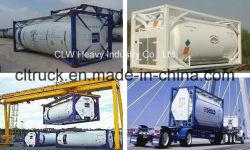 20 FT conteneur ISO de GPL pour le transport du gaz de réservoir