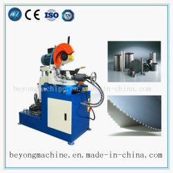 Semi-automatique de couper le tube de tuyaux en acier de coupe hydraulique
