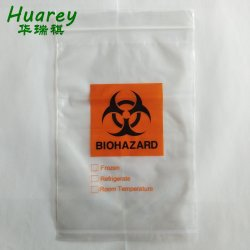 "Spécimen sac en plastique 6""x9"" Sac Biohazard"