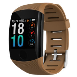 Bluetooth IP67 водонепроницаемый посмотреть браслет из Китая, Q11 кофе