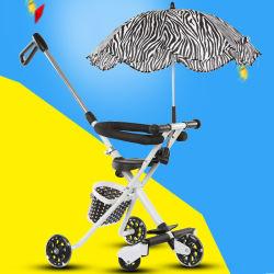 Carrinho de bebé Dobragem fácil Desporto Automóvel Carrinho Carrinho Buggiest guarda-chuva leve