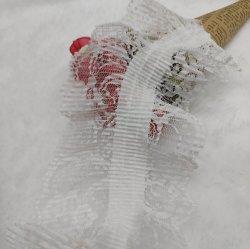 Frange de la Dentelle élastique fraisage Plicated Polyester