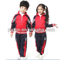 Custom начальной школы единообразных спорта подходит для учебы детей в школе Tracksuits спортивной одежды