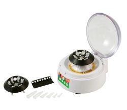 Made in China Certificado CE de la velocidad de alta calidad a bajo precio instrumento médico Laboratorio sangre Prp Mini disco del equipo de laboratorio Micro hematocrito centrifugadoras máquina
