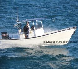 Liya 7,6m de yates de pesca FRP Panga Barco Barco a la venta