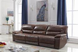 Tissu en cuir confortables de vente à chaud automatique électrique Home Cinéma Cinéma salle de séjour de luxe Chambre inclinables canapé meubles de coupe réglable