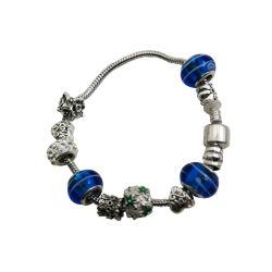 Creative perlé Bracelet métallique de couleur