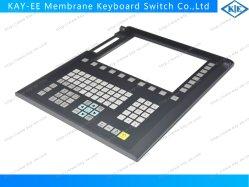 Gran ventana transparente de teclado de membrana Interruptor con moldura de plástico duro