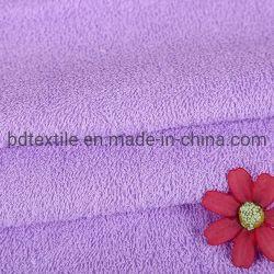 Serviette de 100 % polyester Tissu Home Textile