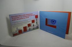 Video cartolina d'auguri con 5 lo schermo di pollice HD