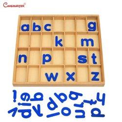 Съемные алфавит окно игры математика Монтессори Монтессори образования игрушки