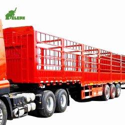 3 несущие стены Semi-Trailer 13м грузовой боковой стенки птицы транспортный прицеп используется Полуприцепе погрузчика