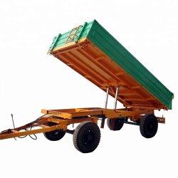 5 tonnellate 4 delle rotelle del deposito di azienda agricola idraulica del trattore che capovolge rimorchio