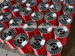 precio de fábrica el suministro de 0.11mm 0.50mm 1mm 1,5 mm 2mm 4mm de aluminio de 2,5 mm de tamaño esmaltado serpenteante cable eléctrico