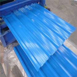 Strato ondulato del tetto del rivestimento di colore di Ral del metallo di PPGI per le Camere