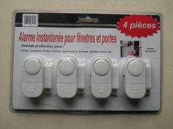 De Magneet van het Venster van de deur gaat de Verpakking van de Kaart van de Blaar van het Alarm 4PCS in