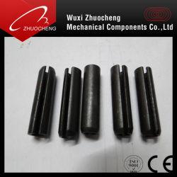 Kohlenstoffstahl-galvanisierter gekerbter SprungPinelastischer gerader Pin DIN1481