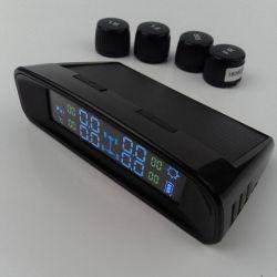 Системы контроля давления в шинах СКДШ интеллектуальная система+4 внешний датчик солнечной энергии DIY легко установить, бар фунтов опцию давления