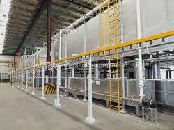 Pulverización electrostática Metal automático de la línea de revestimiento