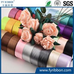 Ruban de Satin ruban de tissu coloré de fleurs