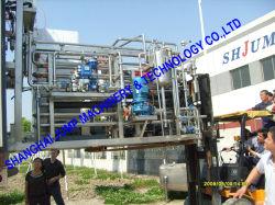 Esterilizador tubular o tubo concéntrico en el tubo de esterilizador Uht