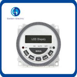 Cn304un temps de minuterie à affichage à LED, commutateur de feux de la rue Boîtes à lumière Contrôleur de puissance circulant