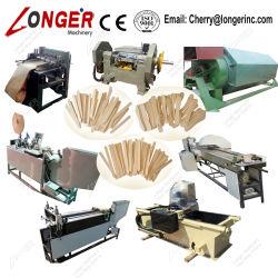 Hölzerner Eiscreme-Stock-Zunge-Senker, der Maschine herstellt