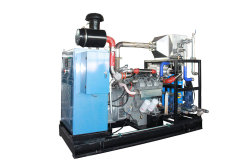 セリウムのBiogasの液化天然ガスCNGのメタンLPGのが付いている公認300kwガスの発電機省エネおよび環境保護