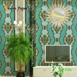 La decoración de interiores 3D de papel tapiz de vinilo autoadhesivo PVC película 3D imágenes HD de papel tapiz lavable