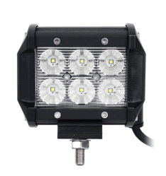 18W 12V светодиодный индикатор работы бар Offroad 24V 4X4 4WD прожектор светодиодный индикатор дальнего света лампы вождения погрузчика ATV UTV прицепа трактора Ван мотоциклов