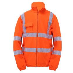 Des vêtements de sécurité réfléchissant haute Visible veste polaire polaire
