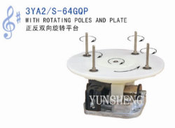 Yunsheng 18 Note Standard Spring Driven Musical Mechanism con Rotating Pali e Plate (3YA2/S-64GQP)