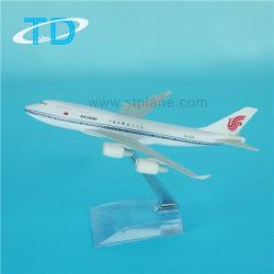 B747-400金属のクラフトのジェット旅客機エンジンの航空機モデル