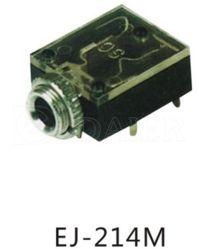 PCB de 3,5mm de plástico tipo tomada de telefone
