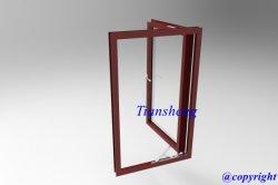De Aluminio recubierto de polvo de Casement ventana con doble acristalamiento