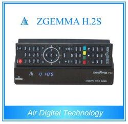 El receptor de satélite Zgemma H. 2s con doble núcleo DVB-S2+DVB-S2 Twin Tuner