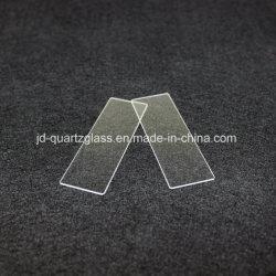Jd Transperant claire en silice fondue Feuille de la plaque de verre de quartz