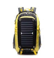 Nueva moda Custom grandes viajes de senderismo de hombro al aire libre Portátil nylon impermeable Bolsa Mochila táctica Solar Sport