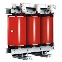 35kv de classe 3 de la résine en fonte de la phase de type sec circuit du transformateur de puissance avec arrêt appuyez sur 35kv