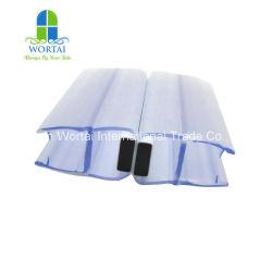Высокое качество 180 градусов Магнитная ПВХ душ стекла уплотнитель двери газа ванной водонепроницаемый уплотнительная лента пластиковую полоску сдвижной двери