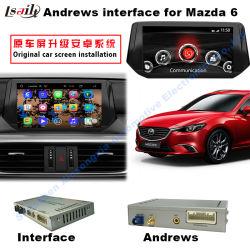 Des Android-4.4.4 HD 800*480 NAND grelles 16GB Vierradantriebwagen-des Kern-1.6GHz für Mazda 6 mit Spiegel-Link, Auto-hintere Kamera