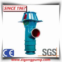 Assiale verticale del ghisa sommerso asta cilindrica lunga del motore elettrico e del motore diesel/acciaio inossidabile del duplex/ha mescolato la pompa di elica di flusso per controllo di inondazione e l'acqua di mare