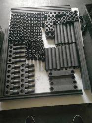 Produtos Carbon-Graphite para aplicação de tratamento em forno industrial sob alta temperatura