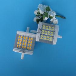 LEIDENE van SMD 5630 leiden 24PCS R7s 8W PC en het Aluminium R7s passen LEIDENE 78mm van de Lamp van de Schijnwerper R7s 10W retroactief aan