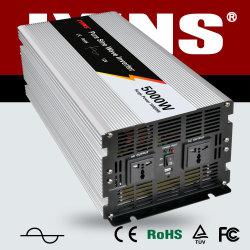 5000W 12V/24V/48V/DC à l'AC/110V/120V/220V/230V/240V Convertisseur de courant solaire hors réseau