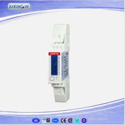 単一フェーズ多機能DINの柵のModbusエネルギーメートルSdm120-Modbus
