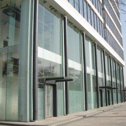 Высокий уровень безопасности 10мм-19мм закаленного стекла наружной стены