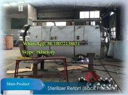 De goedkoopste Autoclaaf van de Sterilisatie met de AchterDruk van de Lucht Bekwaam om het Plastic Sachet van het Voedsel te steriliseren